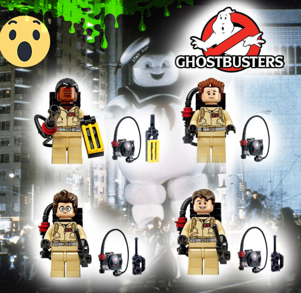 Ghostbusters 4Pcs set - Bunny Buddha