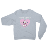 Divine Woman Unisex California Fleece Raglan Sweatshirt - Bunny Buddha