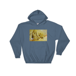 Pyramid Path Hooded Sweatshirt - Bunny Buddha