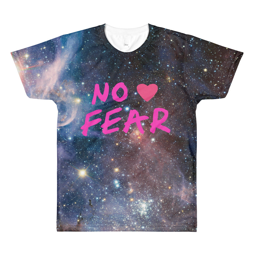 No Fear Universe All-Over Printed T-Shirt - Bunny Buddha