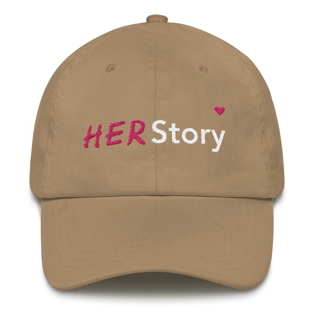 HER Story Dad hat - Bunny Buddha