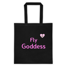 Load image into Gallery viewer, Fly Goddess w/ Heart Tote Bag - Bunny Buddha