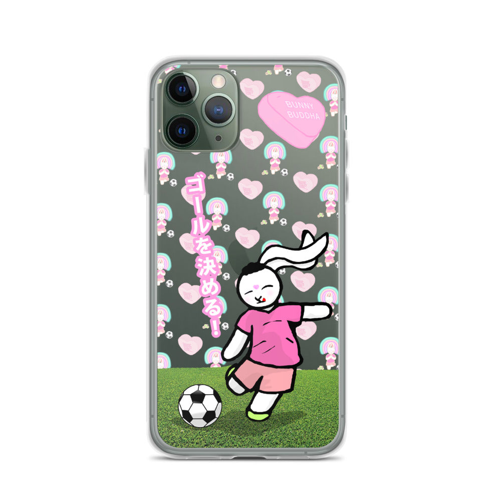 Score The Goal iPhone Case - Bunny Buddha