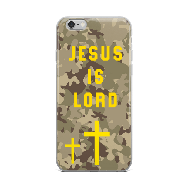 Jesus is Lord iPhone Case - Bunny Buddha