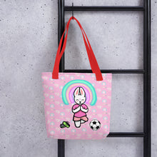 Load image into Gallery viewer, Bunny Meditate Before Game Tote bag - Bunny Buddha