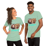 Nala Fierce Short-Sleeve Unisex T-Shirt - Bunny Buddha