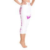 Jesus Is Lord Yoga Capri Leggings - Bunny Buddha