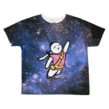 Load image into Gallery viewer, Bunny Power Up Kids Shirt - Bunny Buddha