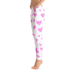 Hearts and Hearts Yoga Pants - Bunny Buddha