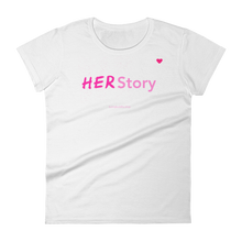 Load image into Gallery viewer, HERStory Women's short sleeve t-shirt - Bunny Buddha