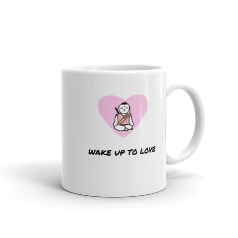 Mornings with Bunny Buddha Mug - Bunny Buddha