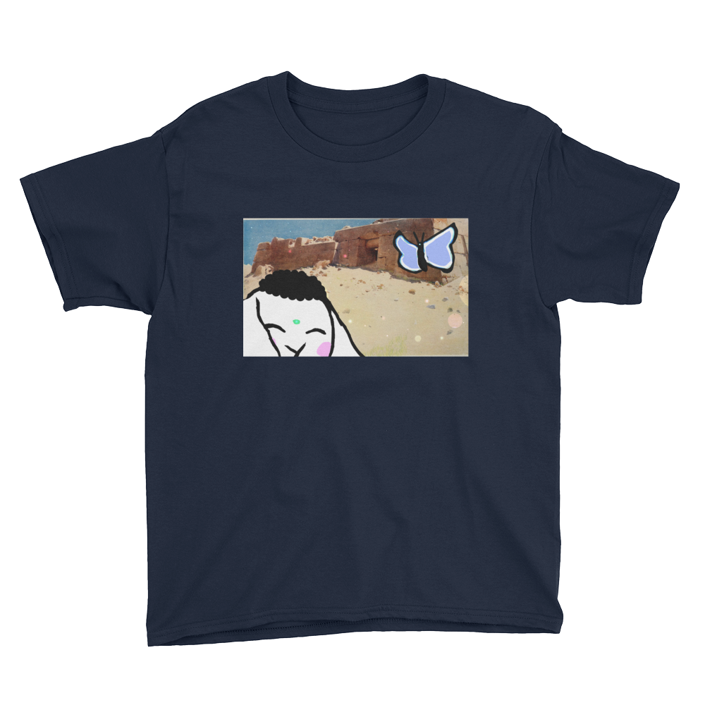 Bunny Pyramid Explore Youth Short Sleeve T-Shirt - Bunny Buddha