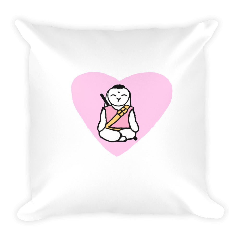 Peace Pillow Original Girl Buddha - Bunny Buddha