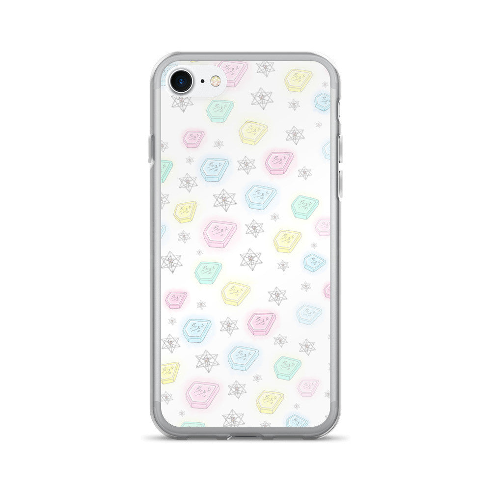 Pastel Keys iPhone 7/7 Plus Case - Bunny Buddha