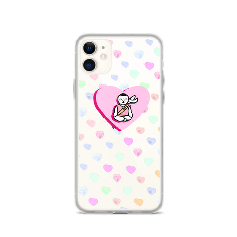 Offshoot Hearts iPhone Case - Bunny Buddha