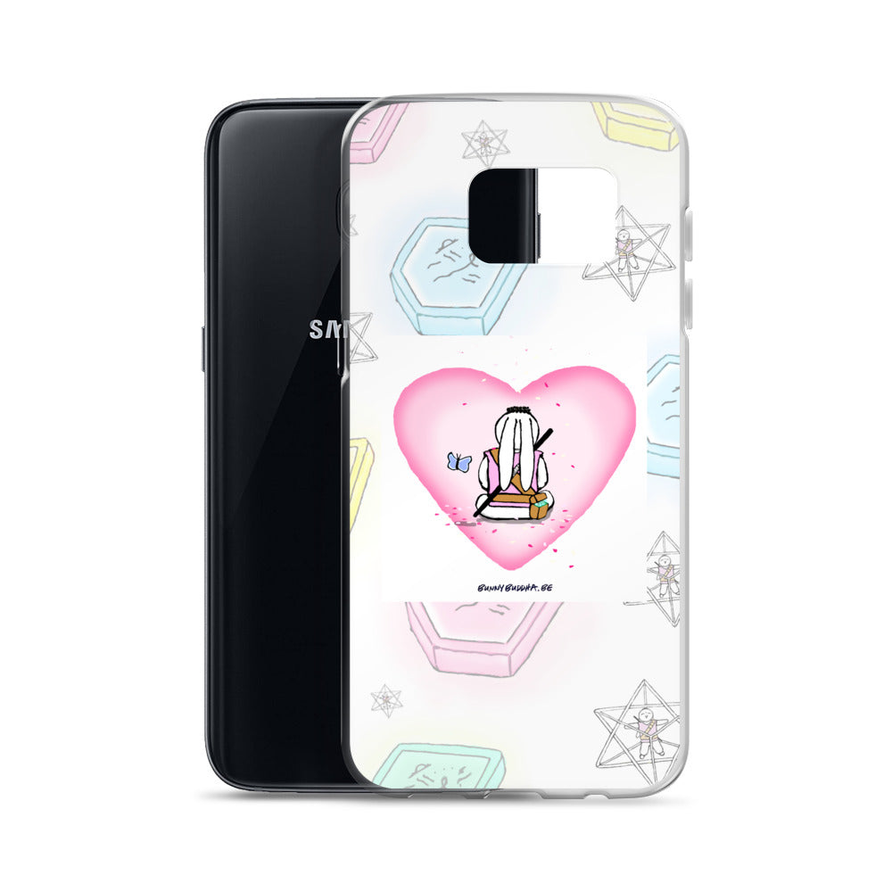 Bunny Merkaba Collection Samsung Case - Bunny Buddha