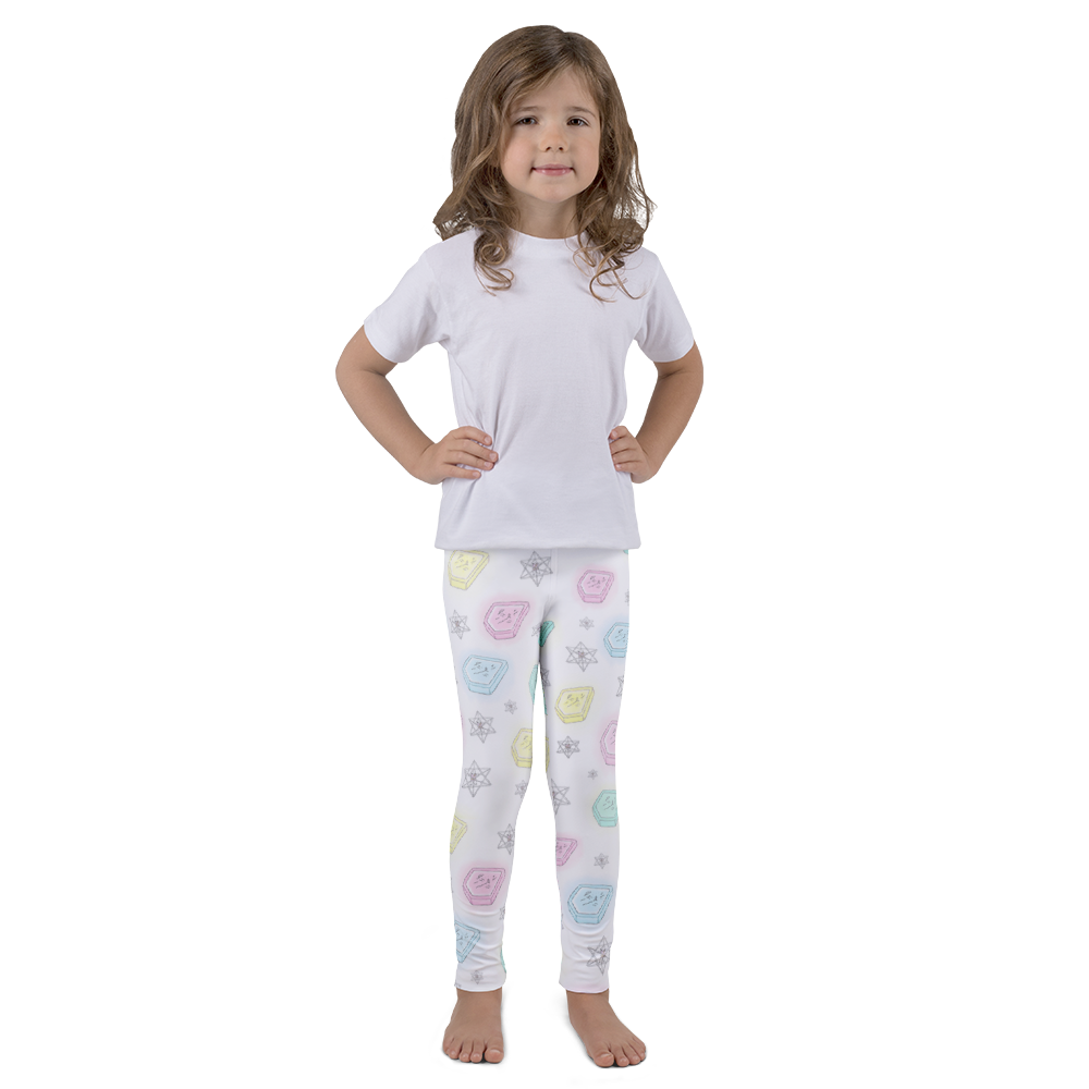 Ancient Keys Kid's leggings - Bunny Buddha