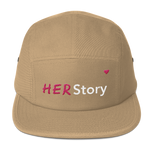 HER Story Five Panel Cap - Bunny Buddha