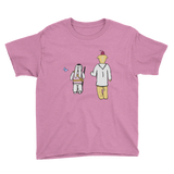 Friends Youth Short Sleeve T-Shirt - Bunny Buddha