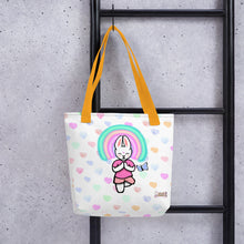 Load image into Gallery viewer, Buddha Sweettarts Tote bag - Bunny Buddha