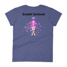 Load image into Gallery viewer, Bunny Buddha Europe Women's T-shirt - Bunny Buddha