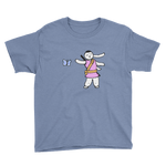 Bunny Dance Youth Short Sleeve T-Shirt - Bunny Buddha