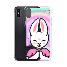 Load image into Gallery viewer, Big Bunny Meditate iPhone Case - Bunny Buddha