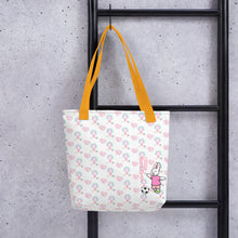 Load image into Gallery viewer, Let's Win Pattern Tote bag - Bunny Buddha