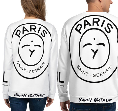 Fly Goddess PSG BB Sweatshirt Black - Bunny Buddha