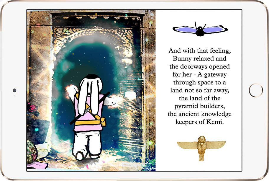 Bunny Buddha™ II: The Pyramid Path eBook - iPad - Bunny Buddha