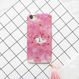 Bunny Cherry Blossoms Petal Phone Case For iPhone7 6 6s Plus - Bunny Buddha