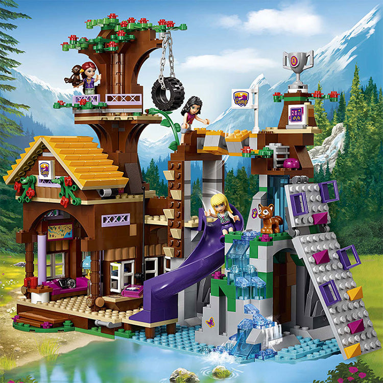 Lego Friends Adventure Camp Tree House - Compatible With Lego® - Bunny Buddha