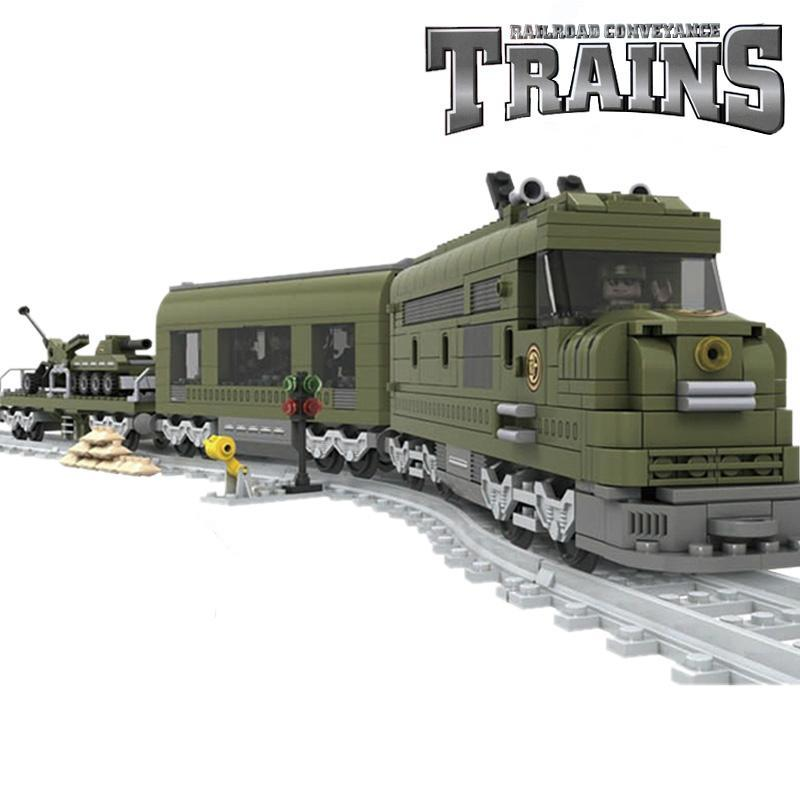 Military Train Compatible w/ Lego 764pcs - Bunny Buddha