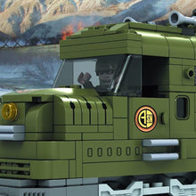 Load image into Gallery viewer, Military Train Compatible w/ Lego 764pcs - Bunny Buddha
