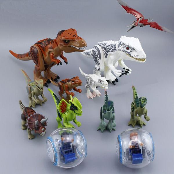 Jurassic World Dinos Mega Set w/ 2 Free Gyroscopes - Bunny Buddha