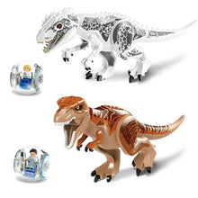 Load image into Gallery viewer, Jurassic World Dinos Mega Set w/ 2 Free Gyroscopes - Bunny Buddha