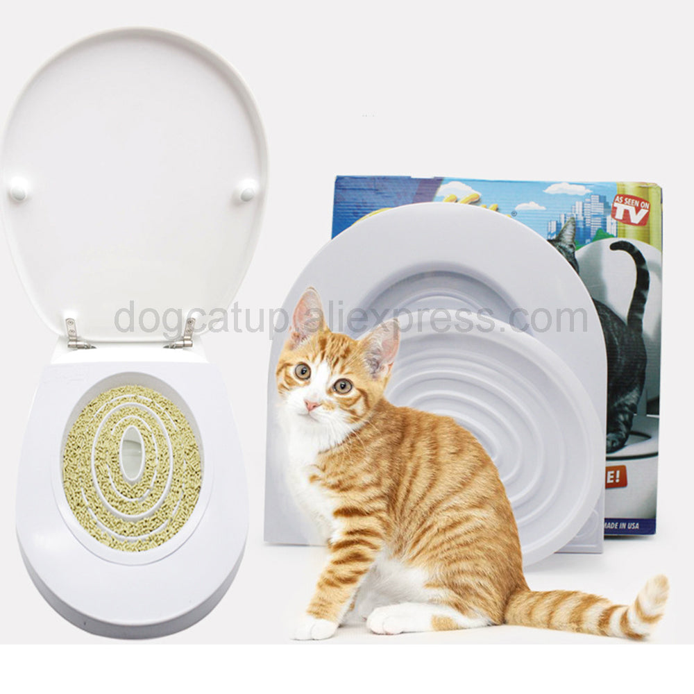 Cat Toilet Trainer / Litter Box Replacer - Bunny Buddha
