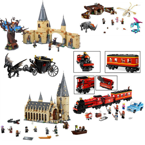Hogwarts Sets + Newt's Magical Creatures - Bunny Buddha