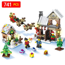 Load image into Gallery viewer, Christmas Building Block Set - Bunny Buddha
