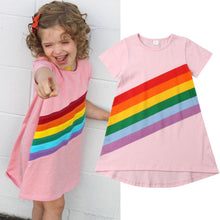 Load image into Gallery viewer, BB Baby™ Rainbow Princess Dress 2-6T - Bunny Buddha