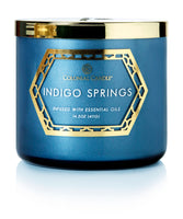 Colonial Luxe Scented Jar Candle, Indigo Springs, 14.5 oz, Single