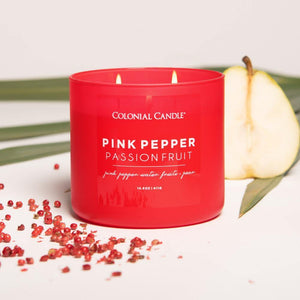 Pink Pepper Passionfruit Jar Candle