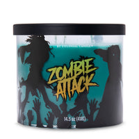 Colonial Candle Scented Jar Candle, Haunted Collections, Zombie Attack, 14.5oz, Single