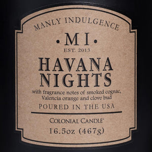 Havana Nights Jar Candle