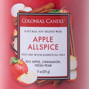 Apple Allspice Jar Candle