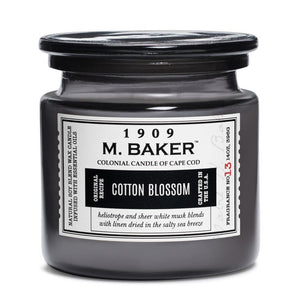 Cotton Blossom Jar Candle
