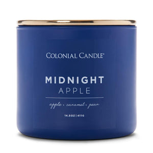 Pop of Color Scented Jar Candle, Midnight Apple, 14.5 oz, Single