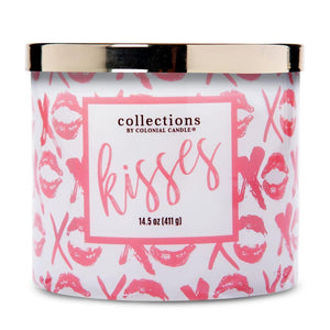 Collections by Colonial Candle Scented Jar Candle, Kisses, 14.5, Single