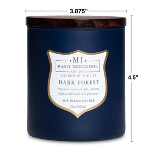 Dark Forest Jar Candle