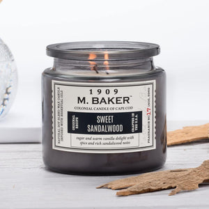 Sweet Sandalwood Jar Candle